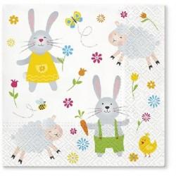 Serwetka Easter Joy 33x33cm...