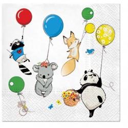Serwetka Animals Party...