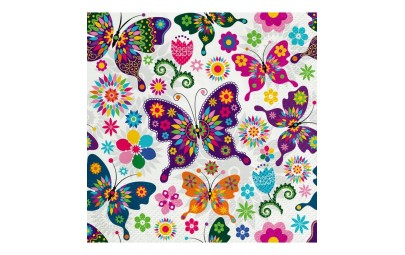 Serwetka Colorful Butterflies