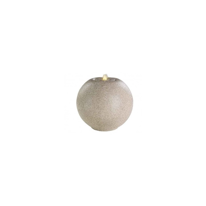 Fontanna kula granitowa kremowa 50x44cm