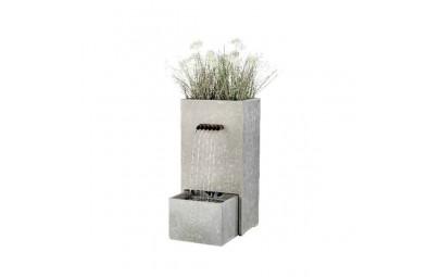 fontanna z kwietnikiem prostokąt