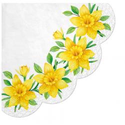 Serwetka Daffodils in Bloom 32cm 12szt