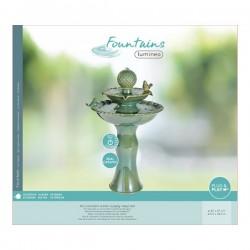 fontanna ceramiczna zielona 1