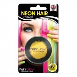 Kreda do włosów UV w kremie neonowa żółta 3,5g