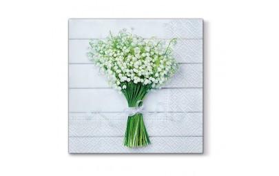 Serwetka White Bouquet