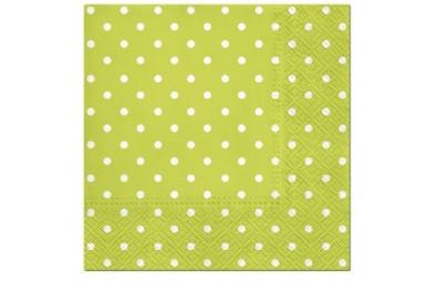 Serwetka Dots zielona