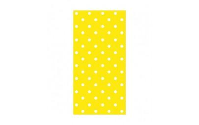 Serwetka Dots intense żółta