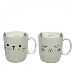 Kubek porcelanowy kot mix
