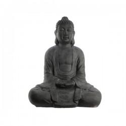 Figura Budda siedzący antracyt 35x61,5x79cm