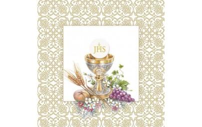 Serwetka Holy Host złota...