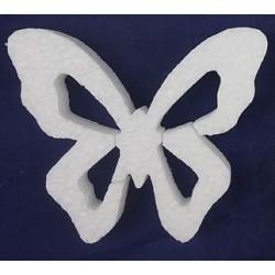 Motyl płaski styropianowy 10x6cm
