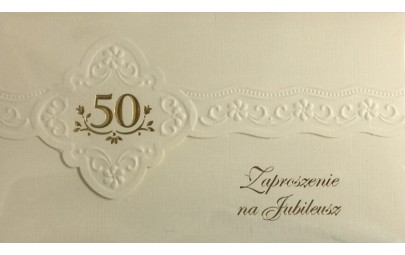 Zaproszenie na Jubileusz 50...
