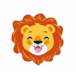 Balon foliowy Lew głowa