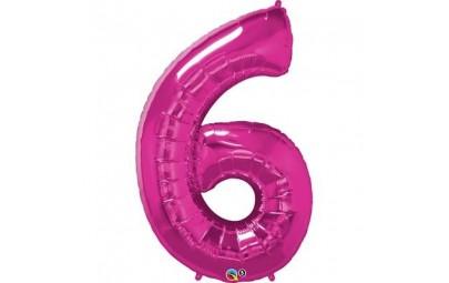 Balon foliowy 34 cyfra 6...