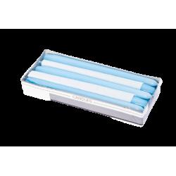 Świeca stożkowa lakier jasny niebieski 240/22mm
