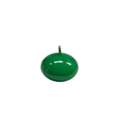 Świeca dysk pływający lakier zielony 40mm
