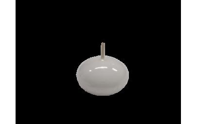 Świeca dysk pływający lakier biały 40mm