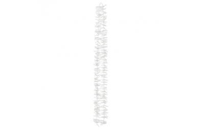 Girlanda na tło -kwiaty biały 1,80m