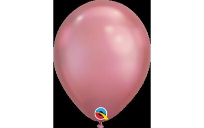 Balon 11' chrome mauve...