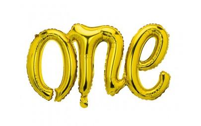 Balon foliowy One