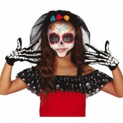 Rękawiczki szkieletor dla dzieci