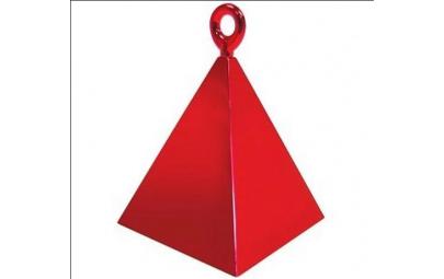 Obciążnik piramida czerwony