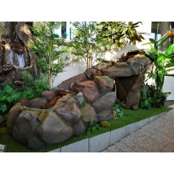 fontanna kamienna wodospad 1