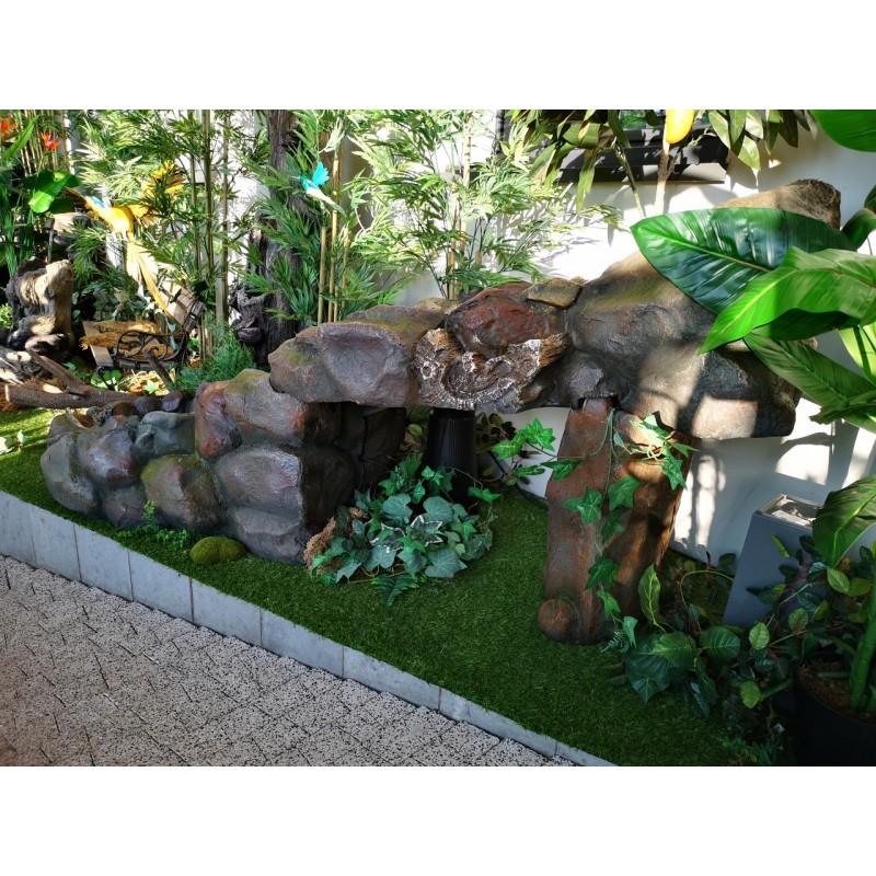 fontanna kamienna wodospad 5
