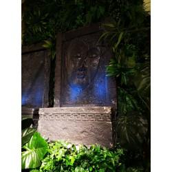Zdjęcie fontanna ściana budda 2