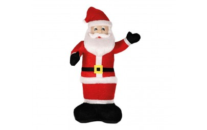 Święty Mikołaj nadmuchiwany...