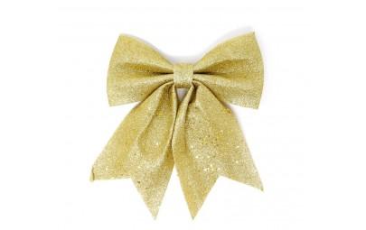 Kokarda ozdobna złota 25cm
