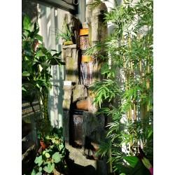 fontanna wodospad pionowy