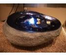 Fontanna owalna kamień led 60x41x28cm