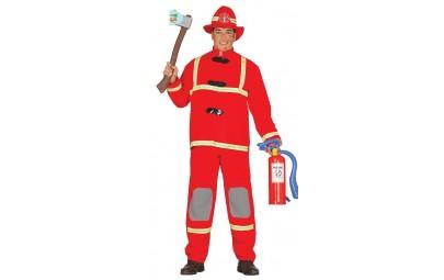 Strój dla dorosłych strażak...