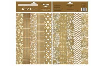 Papier ozdobny Kraft mix...