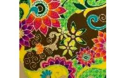 Papier ozdobny India kwiaty...