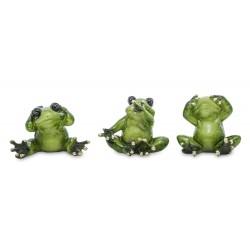 Figurka żaba siedząca 6,5x7x5cm