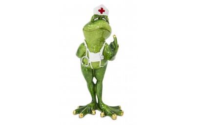 Figurka żaba pielęgniarka 20x9x10,5cm