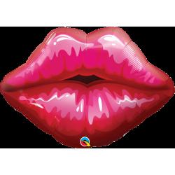 Balon foliowy 30 całujące usta