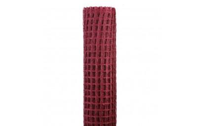 Taśma siatka amarant 50cm/5m