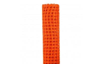 Taśma siatka pomarańcz50cm/5m