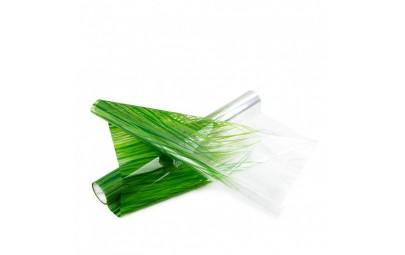 Folia transparentna/zielona...