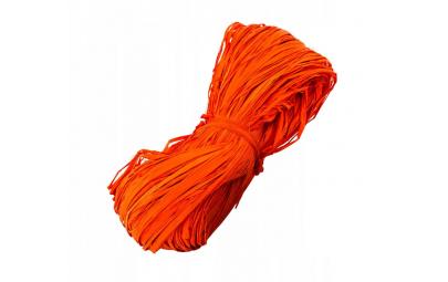Rafia pomarańczowa 100g