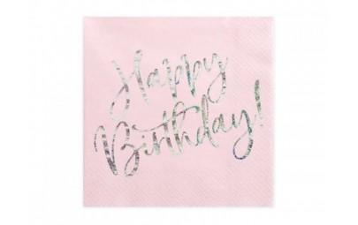 Serwetka Happy Birthday...