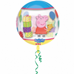 Balon orbz Świnka Peppa 38x40cm