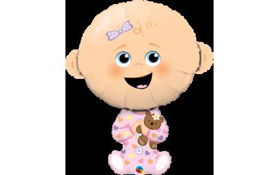 Balon foliowy 38 Baby Girl