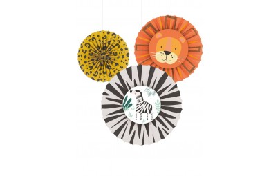 Rozety dekoracyjne Get Wild 6szt