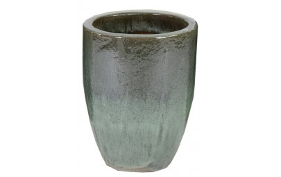 Donica Glazed Egg Vase Moss zielona D35/H44