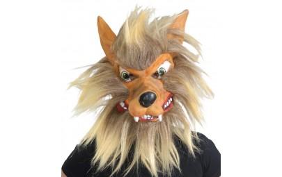 Maska wilkołaka lateksowa z...