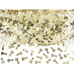 Konffetti penisy złote 30g